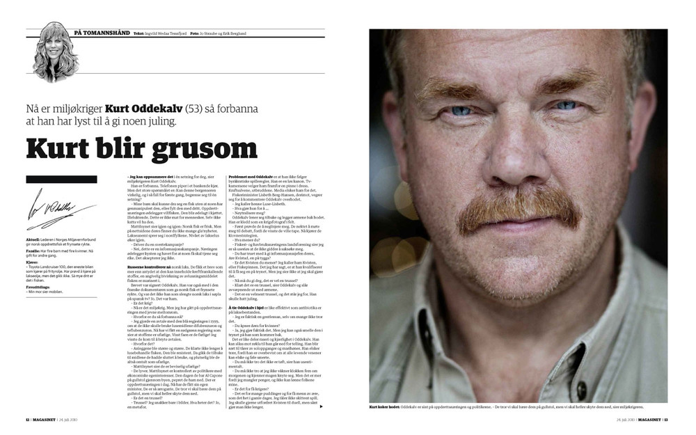 Dagbladet Magasinet 24.7.2010