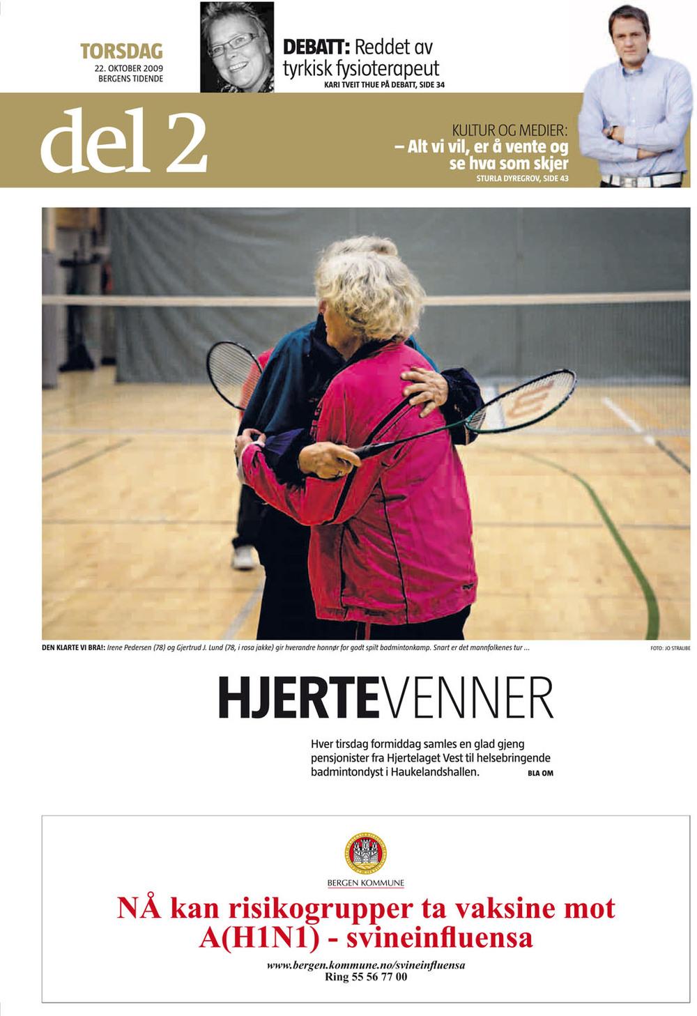 Bergens Tidende 22.10.2009