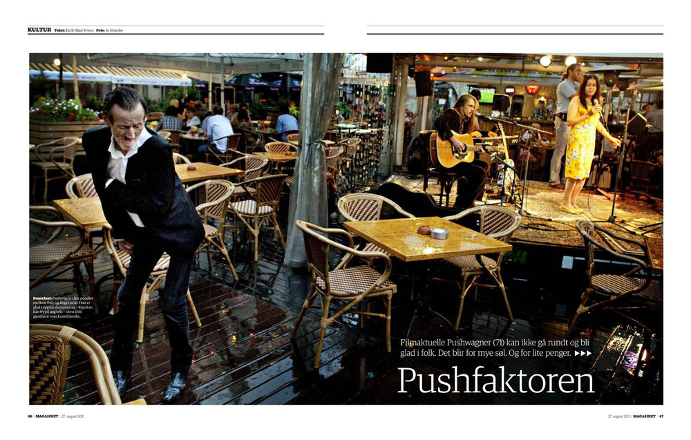 ​Dagbladet Magasinet 27.8.2011