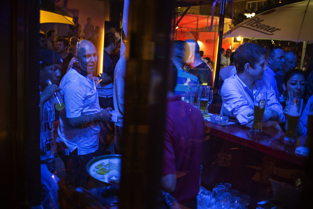 On Thursday nights Sherwan J. Ibrahim usually goes out on the town in Erbil, sometimes to legendary German pub where people from all over the world gather.