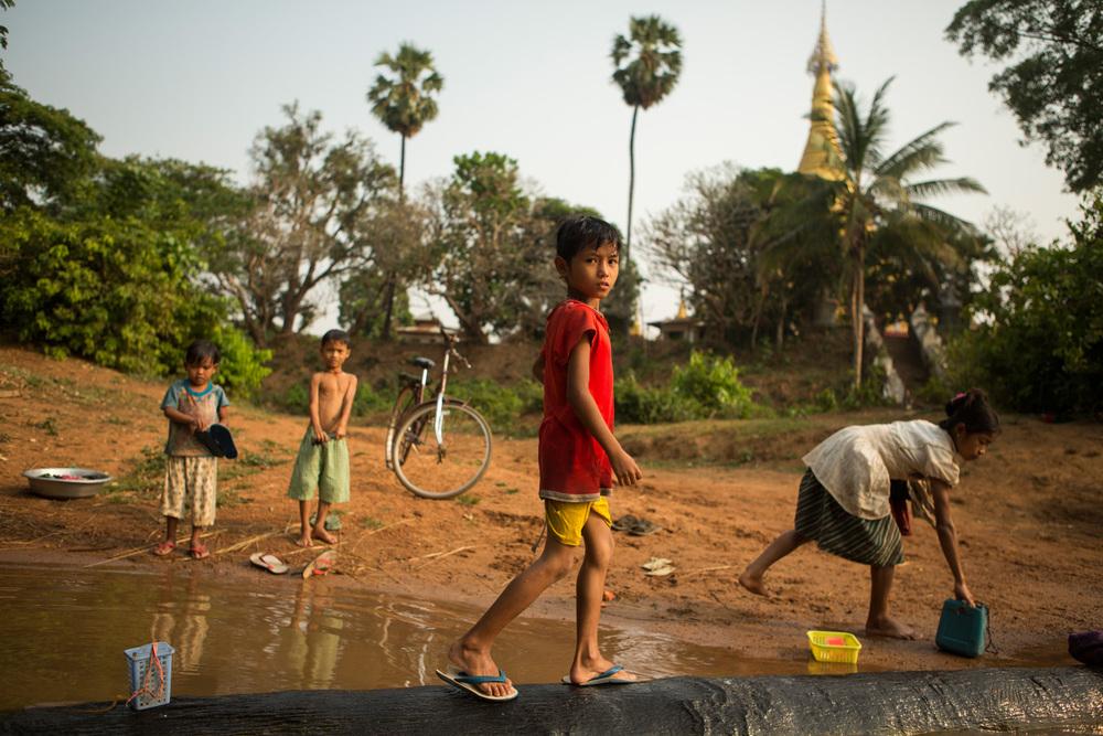Kyaukkyi, Myanmar.  [Burmese days]