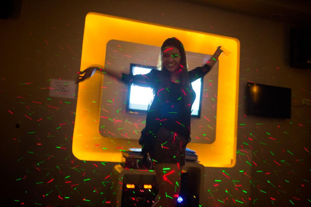 Karaoke bar, Yangon (2014)