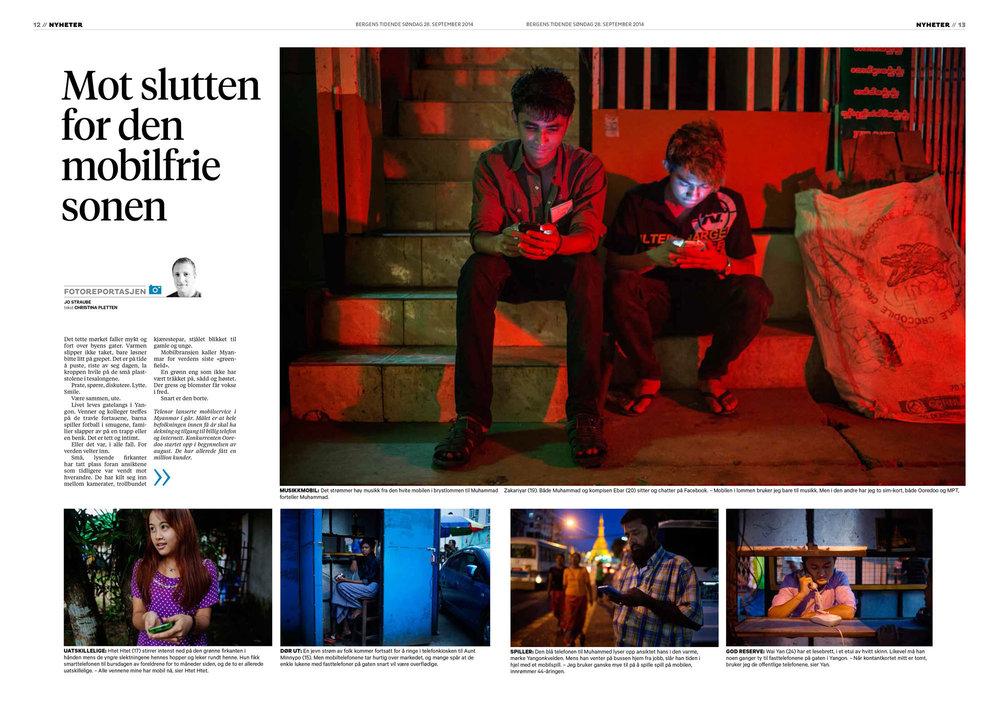 Bergens Tidende, 28.9.2014