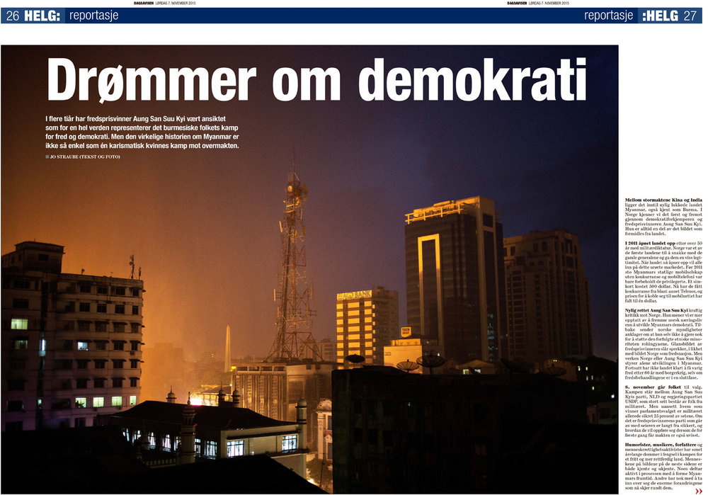 Dagsavisen, 7.november 2015
