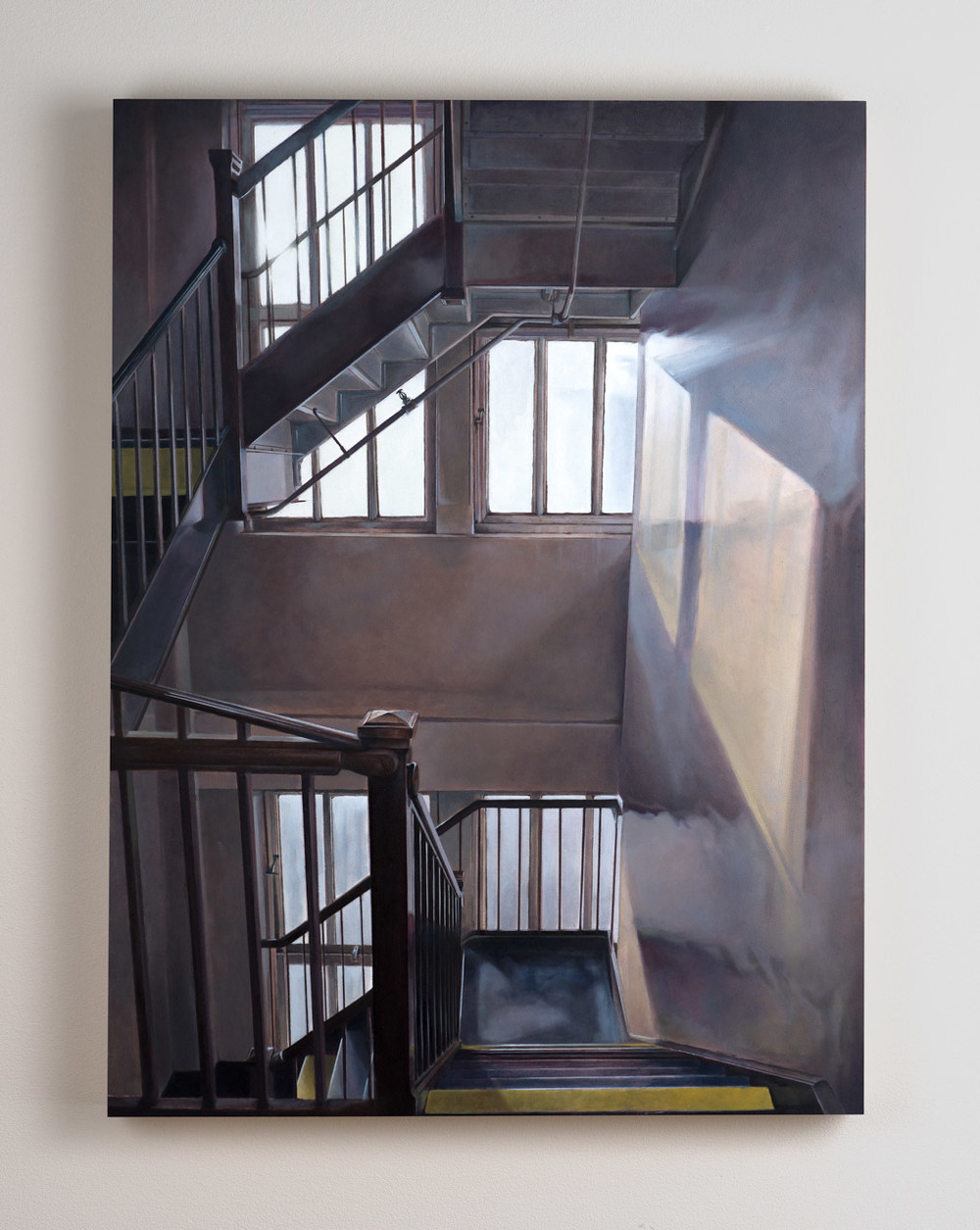 SOLD Title: 526 West 26th  18 x 24, Oil on Board