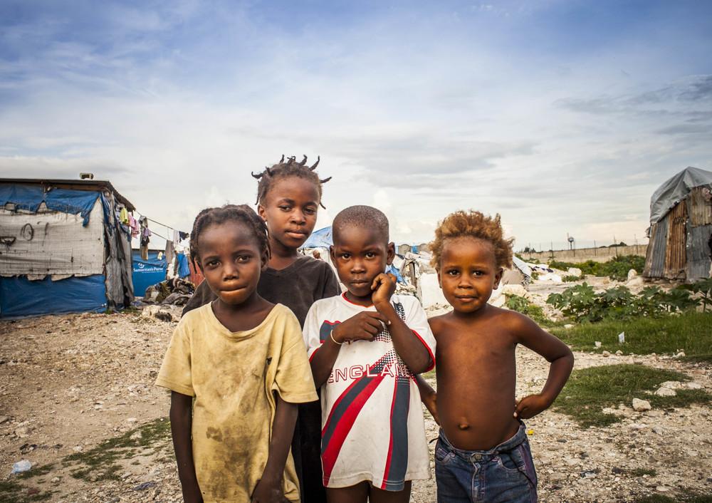 Children of Cité du Soleil, Haiti, 2013