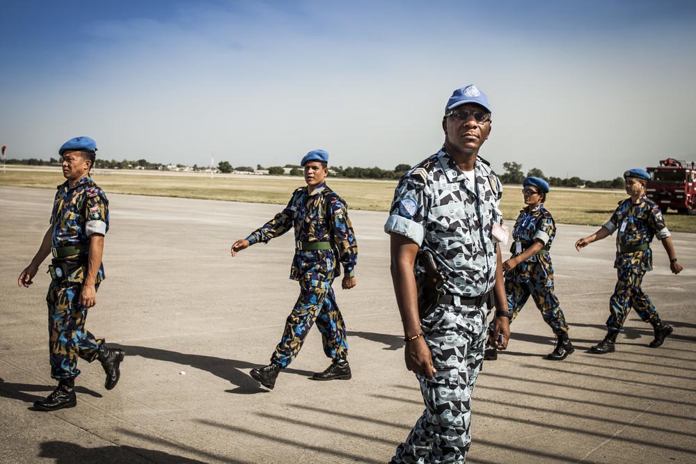 UN Peacekeepers, 2013