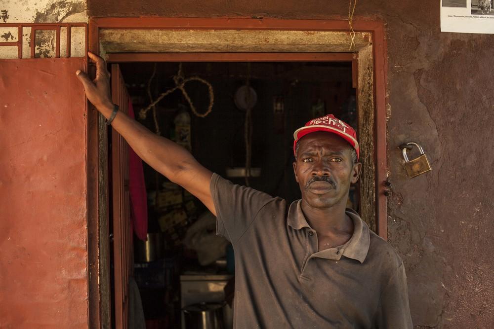 Serge, The Butcher, Haiti, 2013