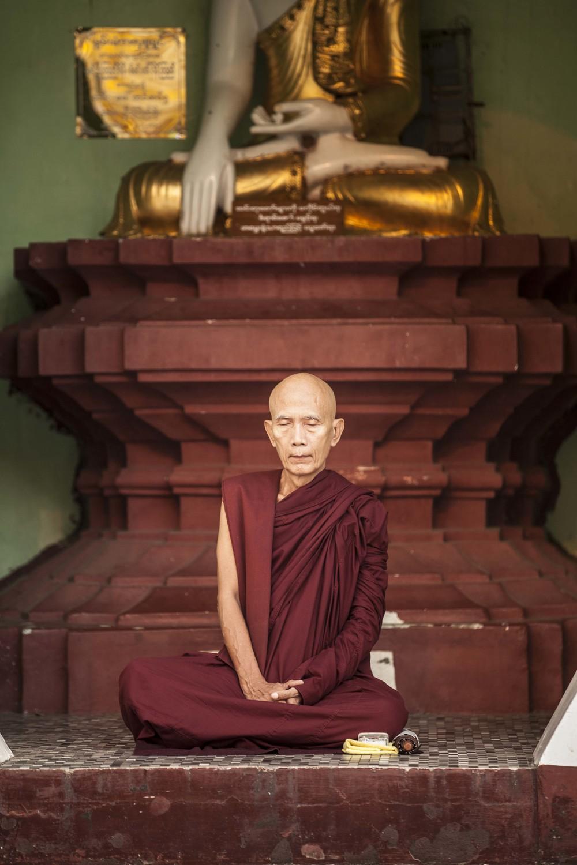 Monk, Myanmar, 2013