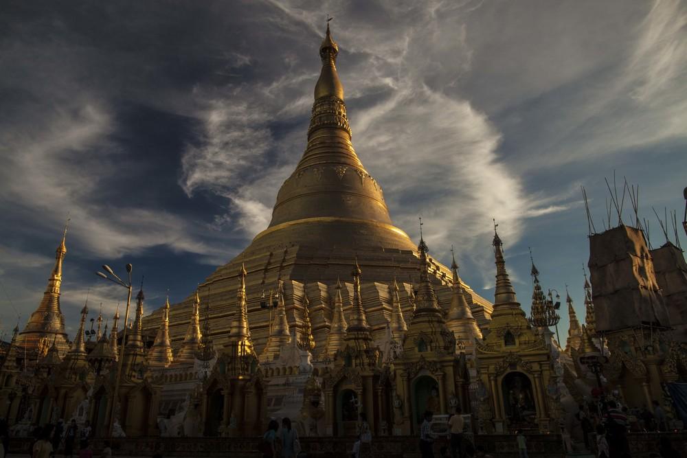 Shendagon Temple, Myanmar 2013