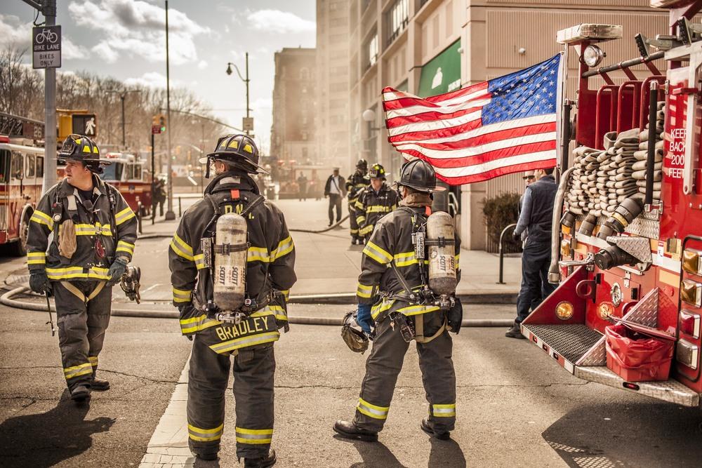 Firemen, Harlem, 2012