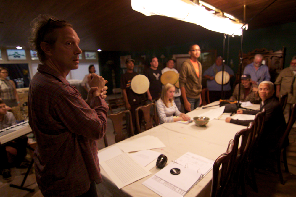 Jon Bepler directing Indians and Hemmingways