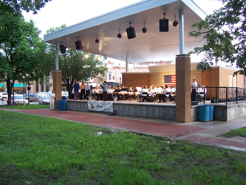 Washington Municipal Bandstand