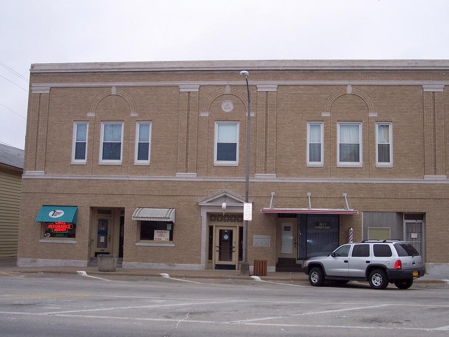 Crull Insurance & Hills Barber Shop