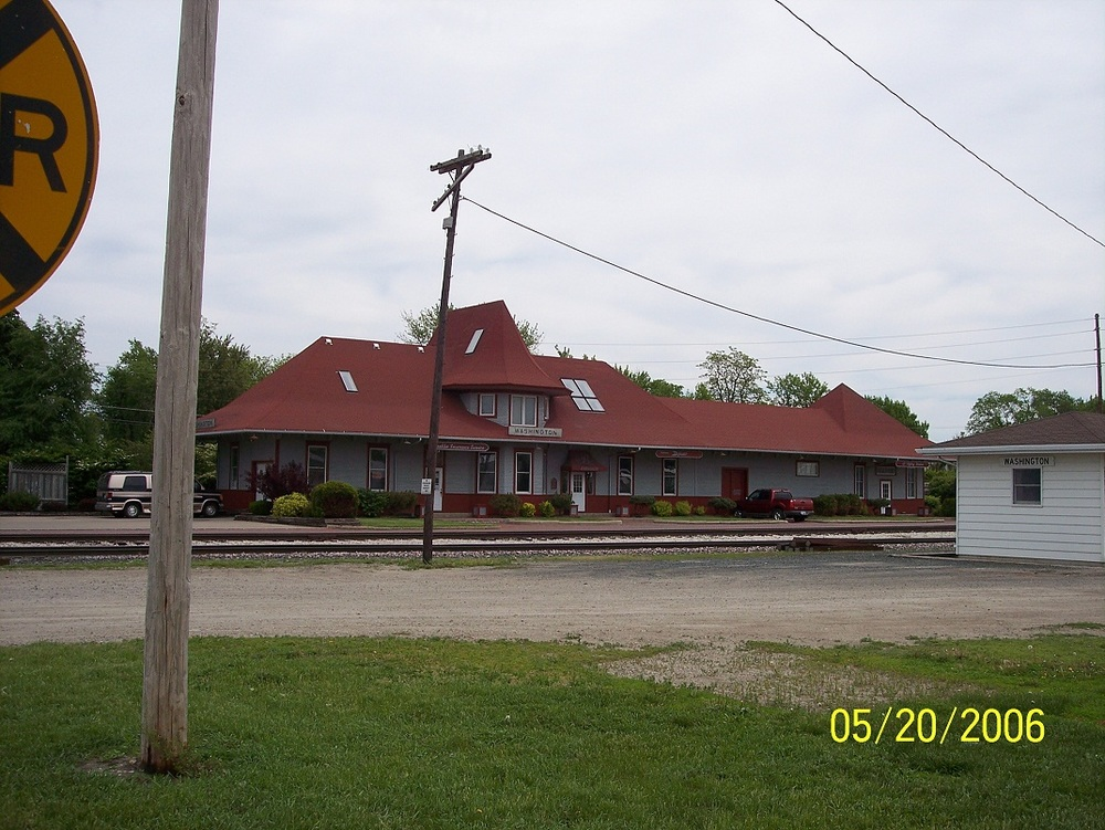 Old Washington Railroad Depot