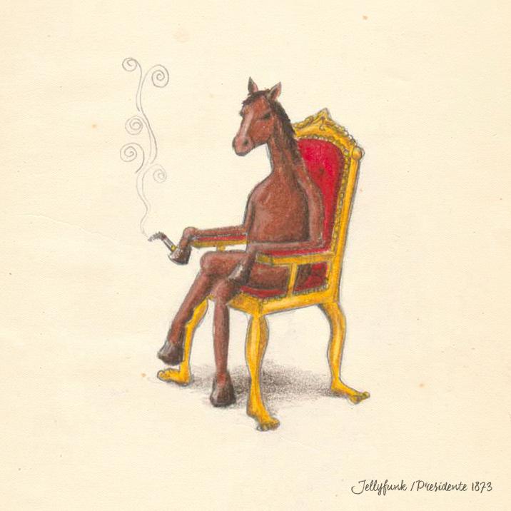 Jellyfunk Presidente 1873  // illustration