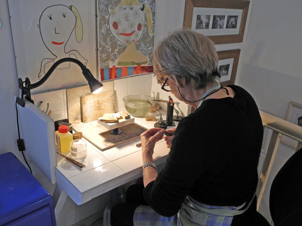 Susanna soldering