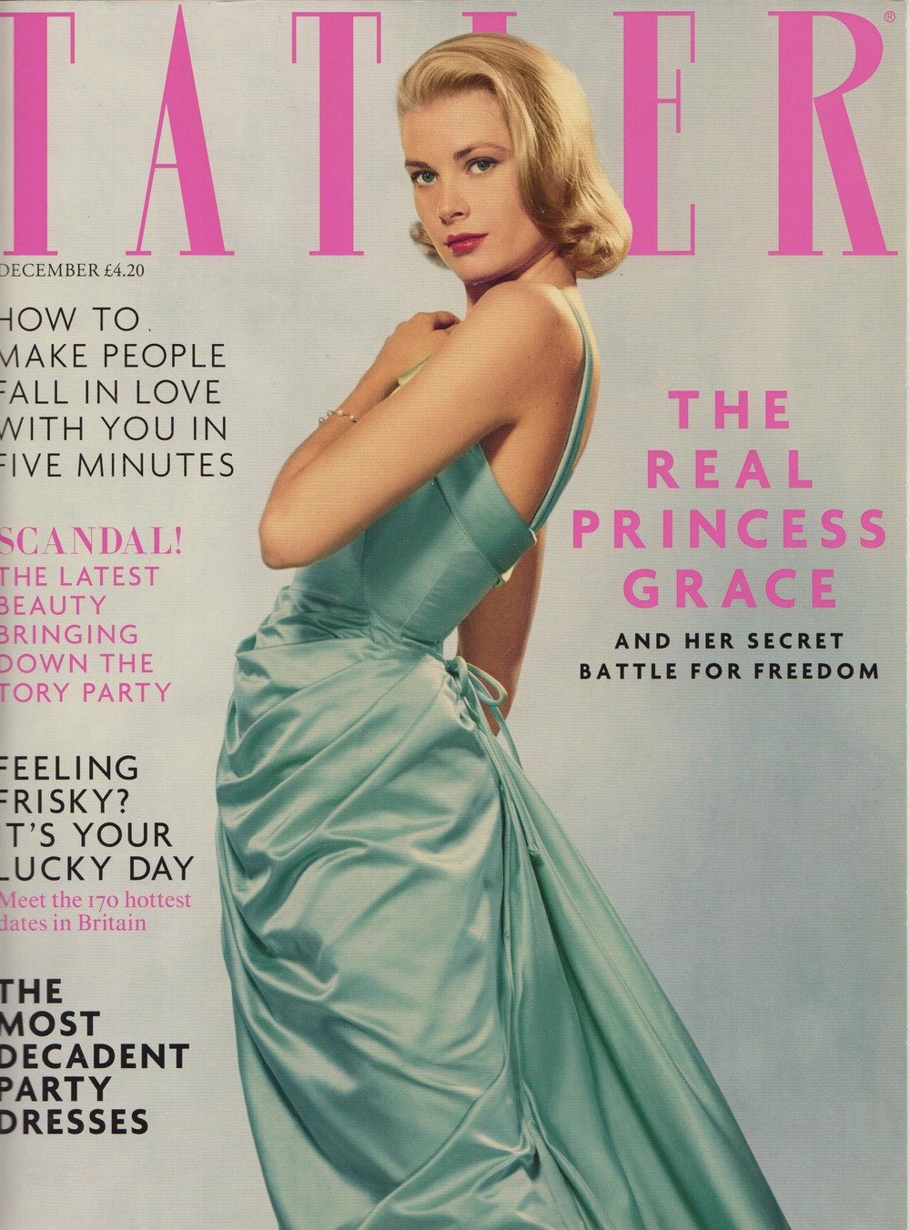 Tatler Cover - December 2013