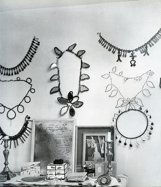 Alexander Calder Jewellery pieces