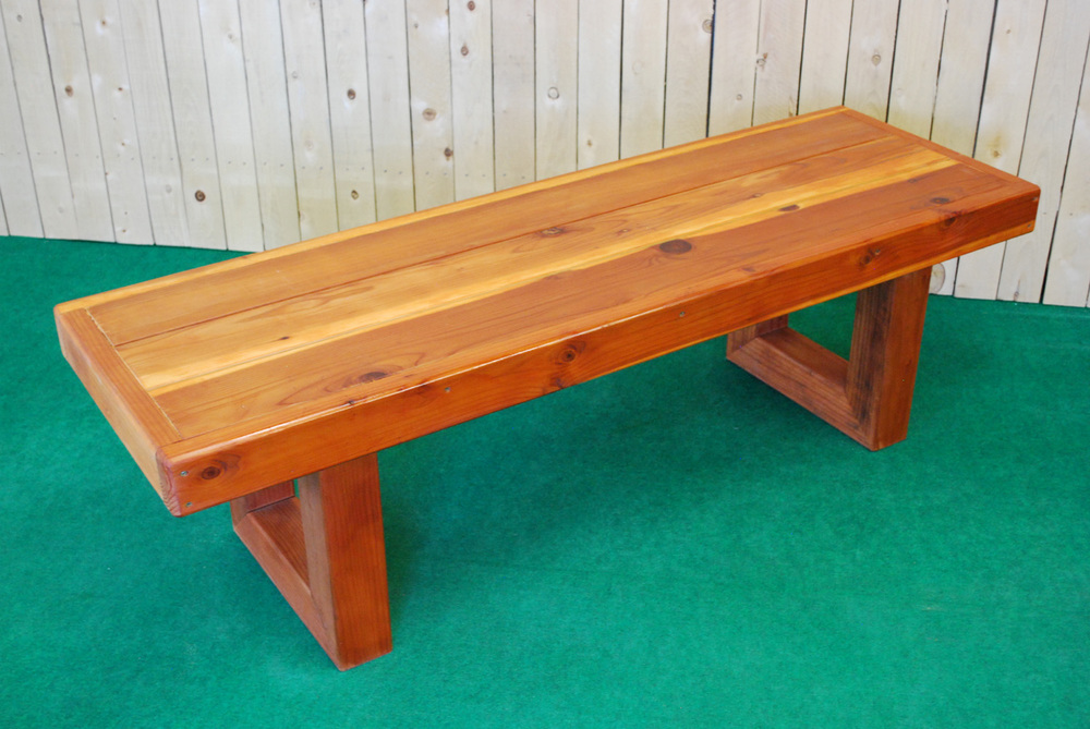 redwood contempo bench