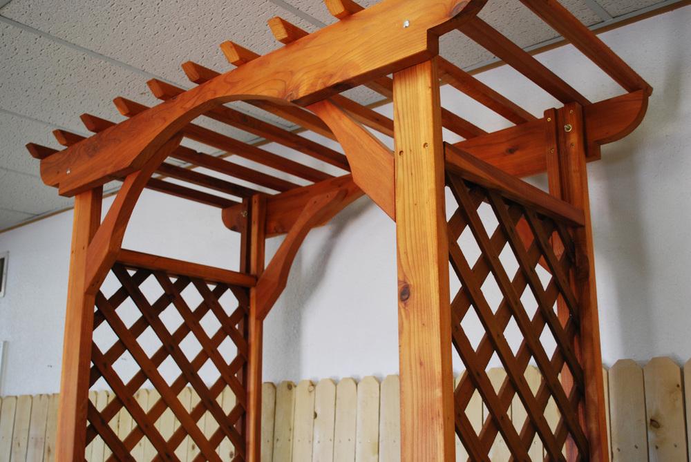 redwood arbor