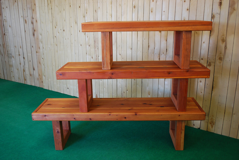 redwood contempo table (all 3 sizes)