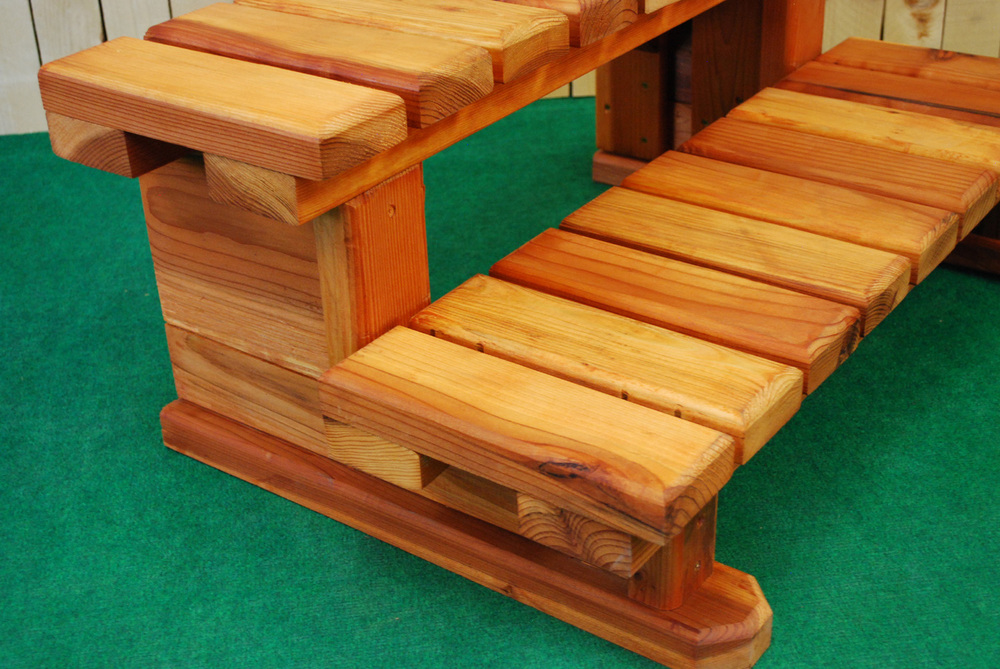 redwood spa steps