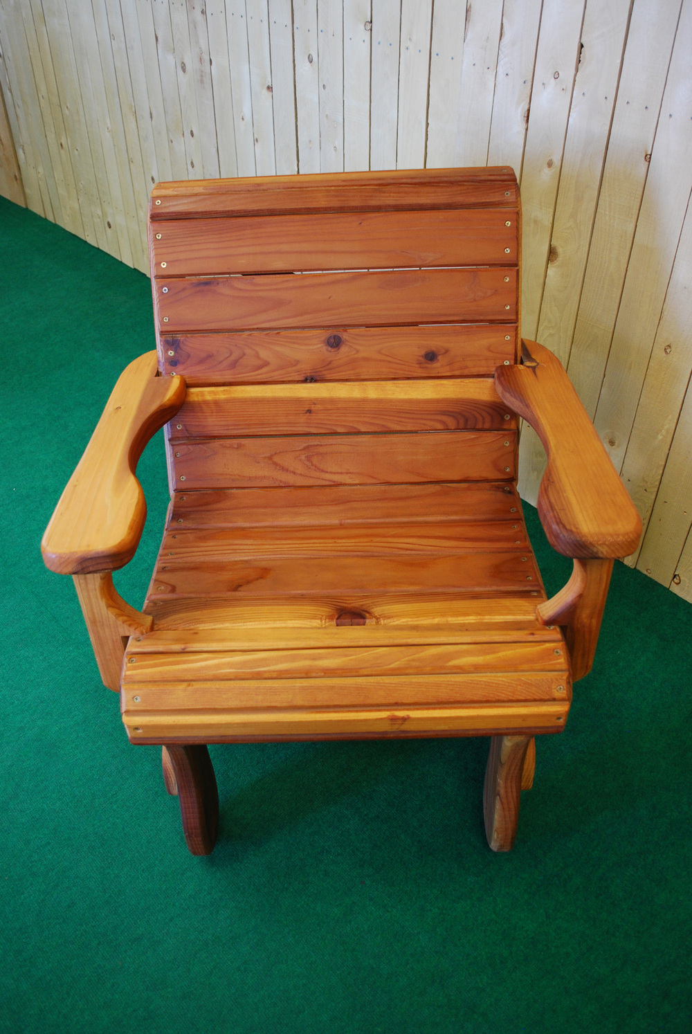 redwood arm chair