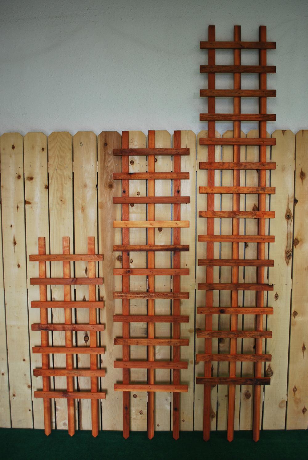 Spec Tre Ladder Trellis The Redwood Store