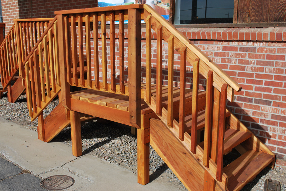 Pre Assembled Decks Patio : Spec deck pre built — the redwood store