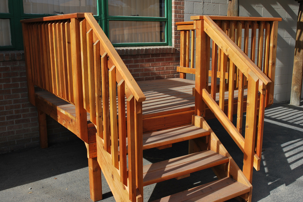 Prefab Wood Steps Bing Images