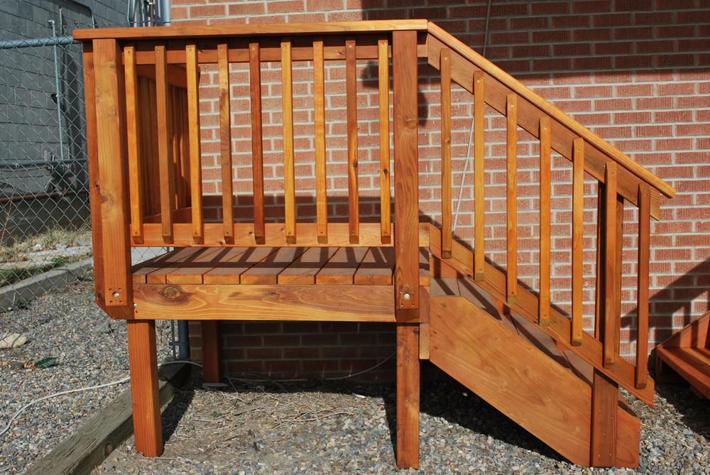 Spec Deck Pre Built Deck The Redwood Store