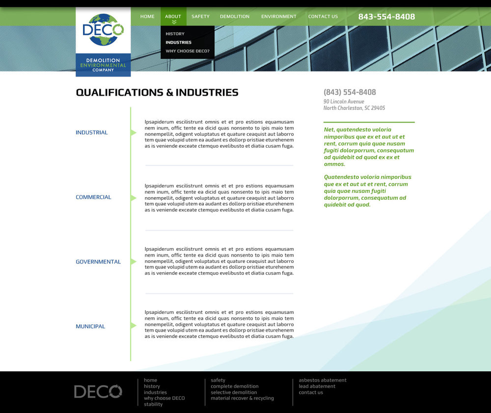 DECO / Collaboration with Harmonic Energies Web Consulting
