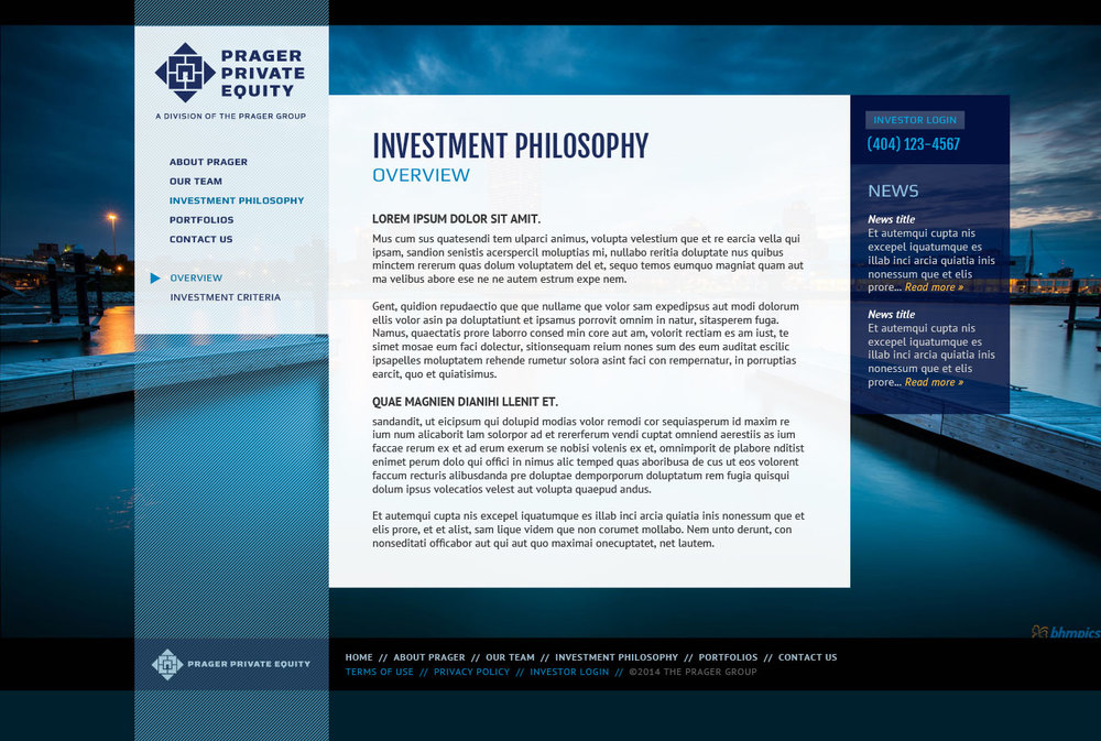 The Prager Group  / Collaboration with Harmonic Energies Web Consulting