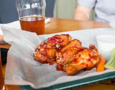 Hemo-Goblin Wings - Blood orange with ghost pepper!