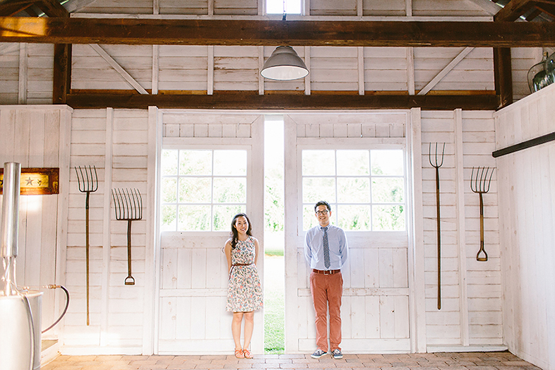Carousel Farm Lavender Engagement