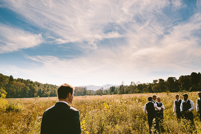A DIY, Mountainside North Carolina Wedding