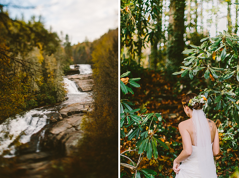 DIY Mountainside North Carolina Wedding