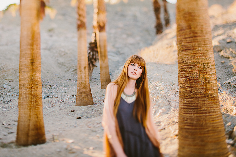 Palm Springs Editorial Photo Shoot
