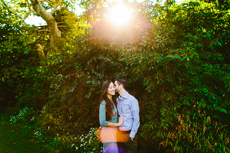 Bartrams Garden Engagement Shoot