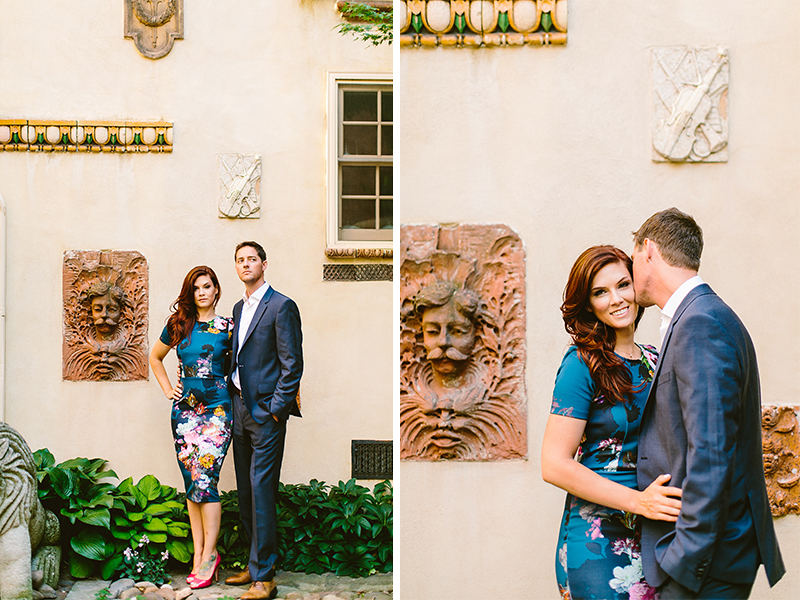 Philadelphia Garden Engagement Shoot (1)