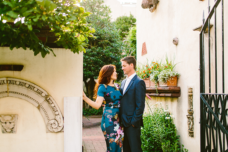 Philadelphia Garden Engagement Shoot (2)