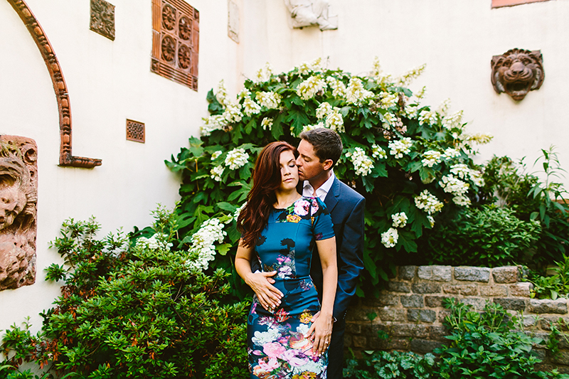 Philadelphia Garden Engagement Shoot (6)
