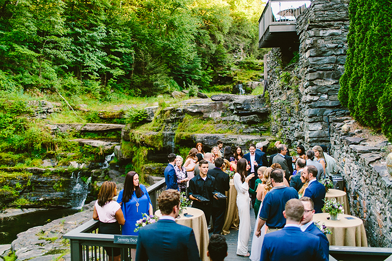 Ledges Hotel Pocono Mountain Wedding (91)