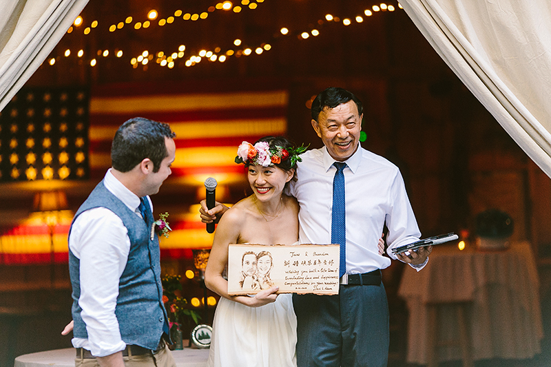Tall Timber Barn Poconos Wedding (101)