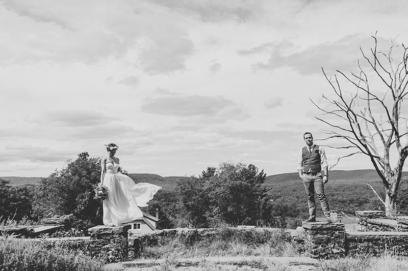 Tall Timber Barn Poconos Wedding (43)