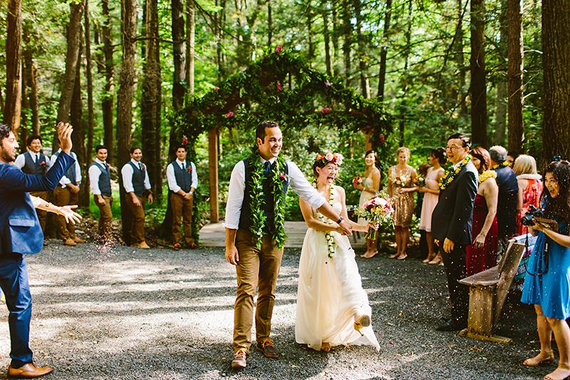 Tall Timber Barn Poconos Wedding (57)