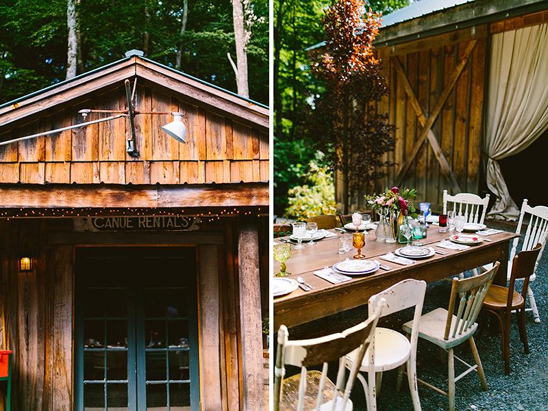Tall Timber Barn Poconos Wedding (71)