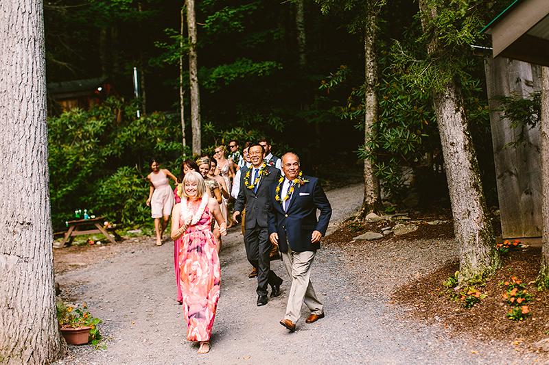 Tall Timber Barn Poconos Wedding (78)