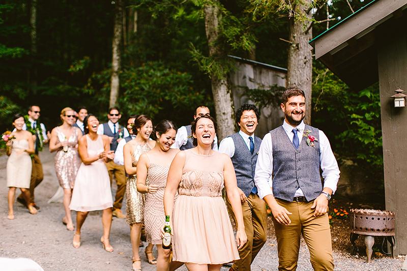 Tall Timber Barn Poconos Wedding (79)